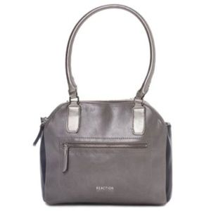 Kenneth Cole® Riley Satchel, Gray, New with Tags